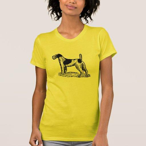 Stylish Retro Fox Terrier Tshirt