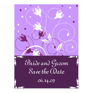 Stylish Save The Date Postcards