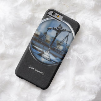 Stylish Scales of Justice | Lawyer Barely There iPhone 6 Case