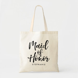 """Stylish Script """"Maid of Honor"""" Personalized"""