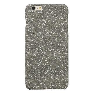 Stylish Silver Glitter iPhone 6 Plus Case
