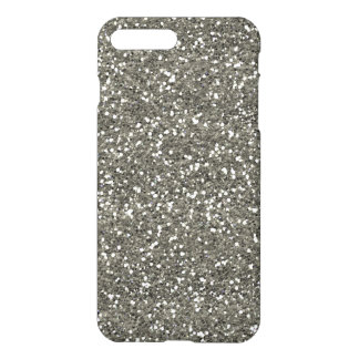 Stylish Silver Glitter iPhone 7 Plus Case