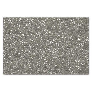 Stylish Silver Glitter Tissue Paper