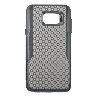 Stylish Silver Polka Dot OtterBox Samsung Note 5 Case