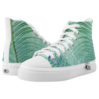 Stylish Soft Green Plant Shoes Sneakers