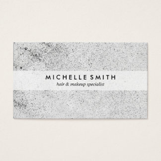 Stylish Speckled Grunge Business Card