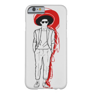 Stylish streetstyle men with hat and cropped pants barely there iPhone 6 case