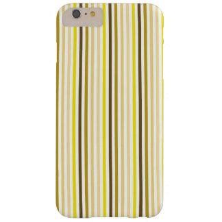 Stylish Stripes iPhone Case - Yellow Theme