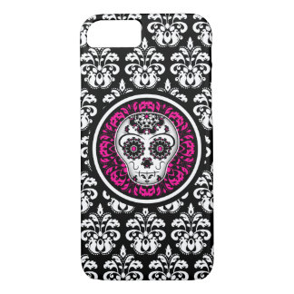 Stylish sugar skull iPhone 8/7 case