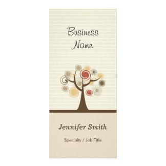 Stylish Tree of Life - Elegant Natural Theme Rack Card