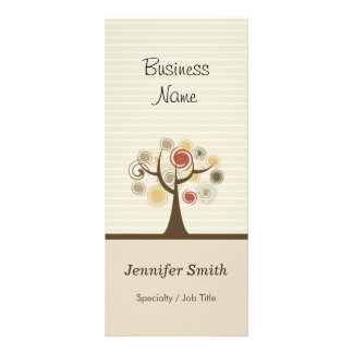 Stylish Tree of Life - Elegant Natural Theme Rack Card
