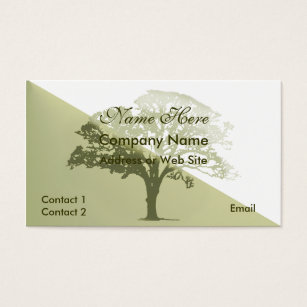 Tree business cards business card printing zazzle uk stylish tree silhouette business card colourmoves