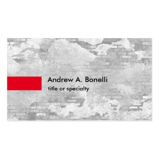 Stylish Trendy Grey Wall Professional Modern Pack Of Standard Business Cards