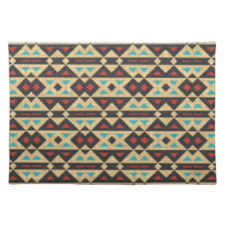Stylish Tribal Fabric. Native American, Aztec Placemat