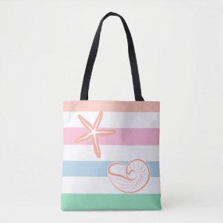 Stylish Tropical Beach Tote Bag