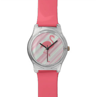 Stylish Tropical Flamingo Watch