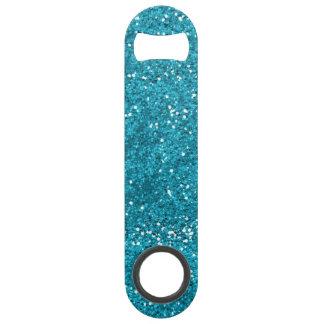 Stylish Turquoise Blue Glitter