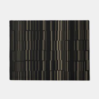 Stylish Unique Broken Line Pattern Doormat