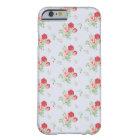 Stylish Vintage Floral Flowers iPhone 6 Case