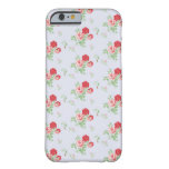 Stylish Vintage Floral Flowers iPhone 6 Case Barely There iPhone 6 Case