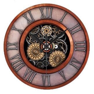 Stylish Vintage Steampunk #4C Clock