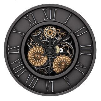 Stylish Vintage Steampunk #5C Wall Clock
