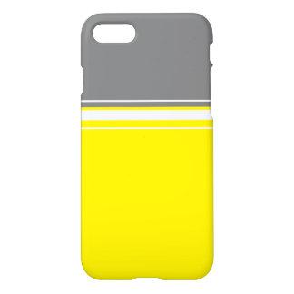 Stylish Yellow Grey White IPhone 8/7 Case Cover