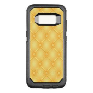 Stylish Yellow Upholstery Pattern OtterBox Commuter Samsung Galaxy S8 Case