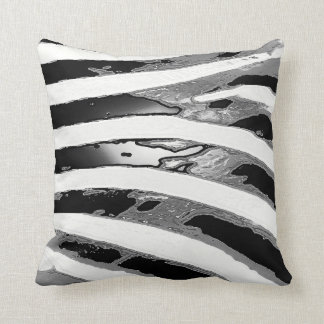 Stylish Zebra Pattern Accent Pillow