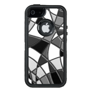 Stylishly Abstract Monochrome case