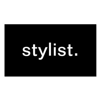 Stylist Pack Of Standard Business Cards