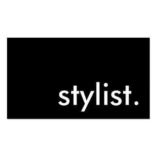 stylist business card template