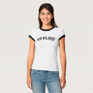 Stylist Occupation Athletic Lettering T-Shirt