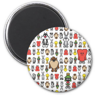 Stylize Tweey and Friends 6 Cm Round Magnet