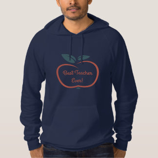 Stylized Apple custom text clothing Hoodie