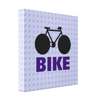 stylized bicycle decorative art canvas prints