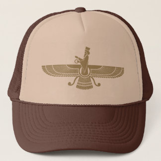 Stylized Faravahar Trucker Hat