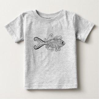 Stylized Fish Baby T-Shirt