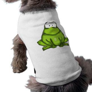 Stylized Frog Doggie Shirt Dog T-shirt
