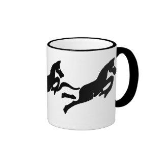 Stylized Horses Ceramic Mug