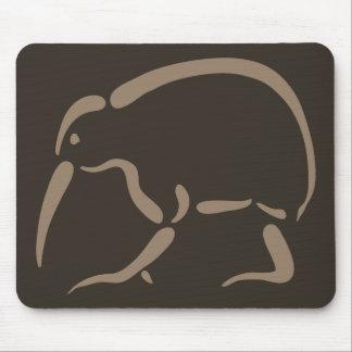 Stylized Kiwi Mouse Pad