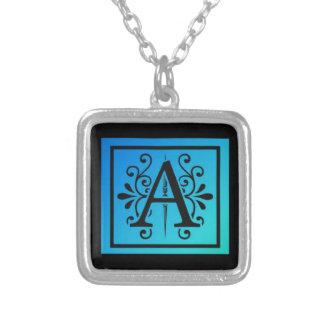 Stylized Letter A Jewelry