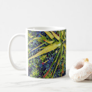 Stylized Mosaic Aloe Coffee / Tea Mug