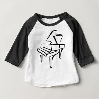 Stylized Piano Baby T-Shirt
