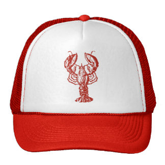 Stylized Red Lobster Cap
