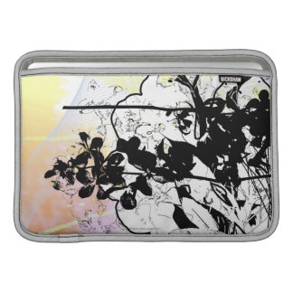 Stylized Tree Branches MacBook Sleeve
