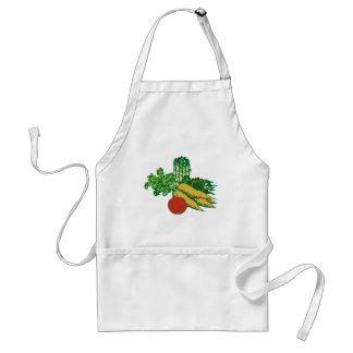 Stylized Vegetable Assortment Standard Apron