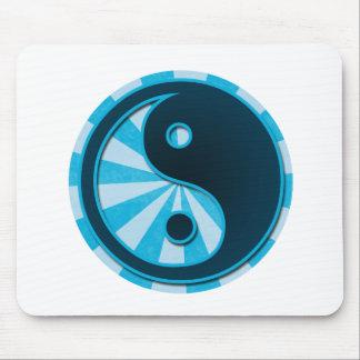 Stylized Yin Yang Mouse Pad