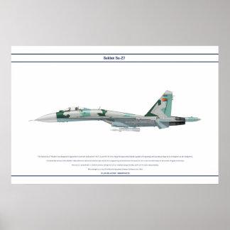 Su-27 Eritrea 1 Poster