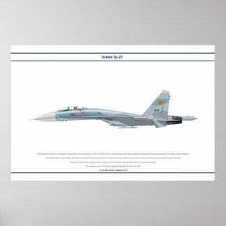 Su-27 Ethiopia 1 Poster